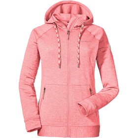 Schöffel Setagaya Fleece Hoody Women strawberry ice